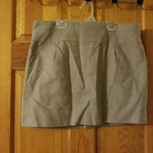 J Crew mini skirt - size 10